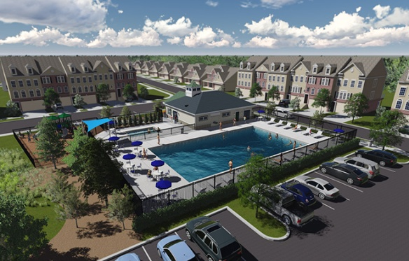 Lennar's new Boyer's Ridge community, located less than five minutes from Fort Meade, Maryland, is one of nearly a dozen new-townhome communities in that quickly growing area.